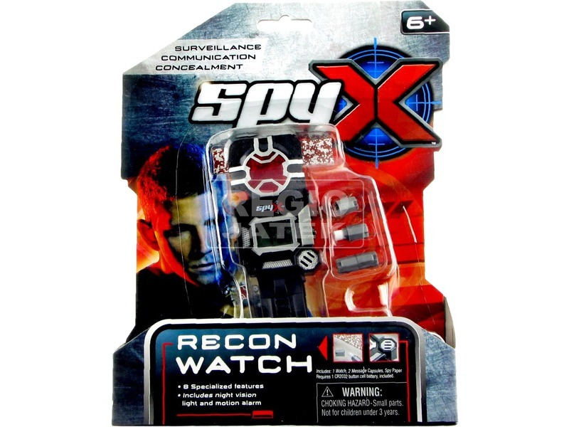 kép nagyítása SpyX 8 az 1-ben kém óra