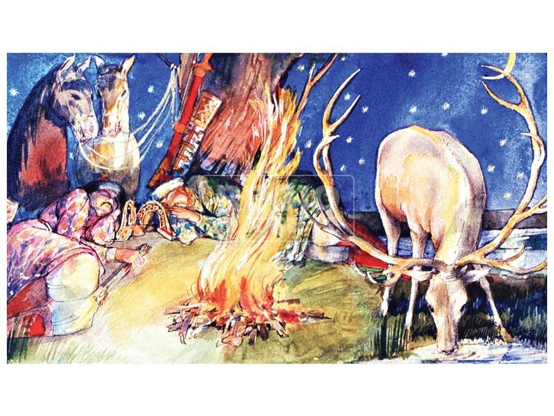 kép nagyítása Rege a csodaszarvasról diafilm 34102523