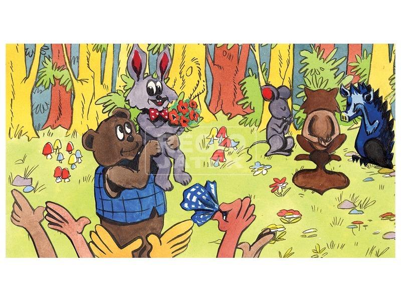 kép nagyítása Szépségverseny az erdőben diafilm 34101205