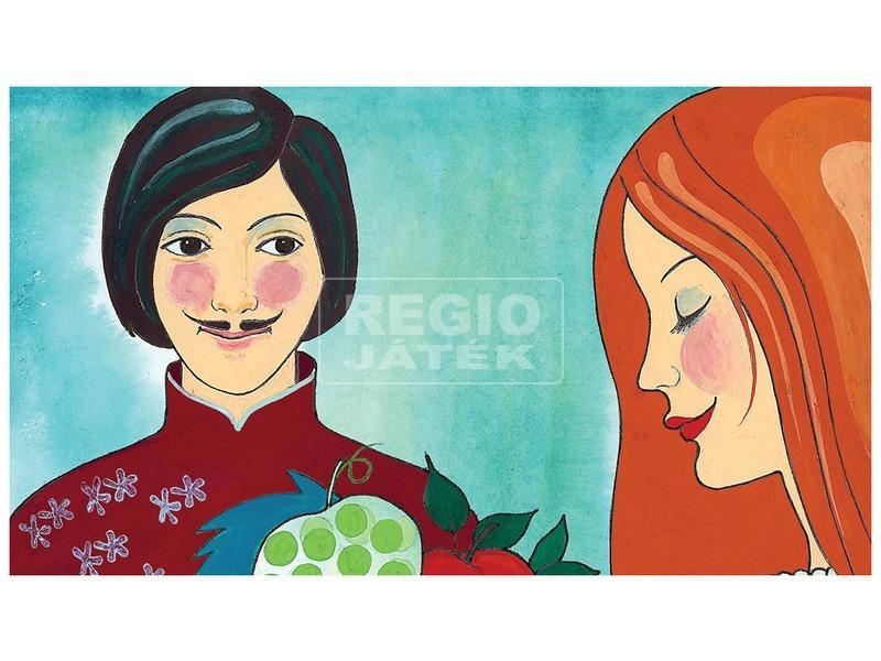 kép nagyítása Szóló szőlő, mosolygó alma diafilm 34102813
