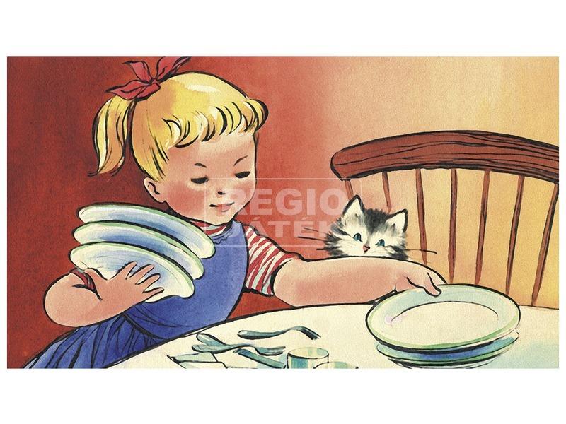 kép nagyítása Zsuzsi segít anyukájának diafilm 34101328