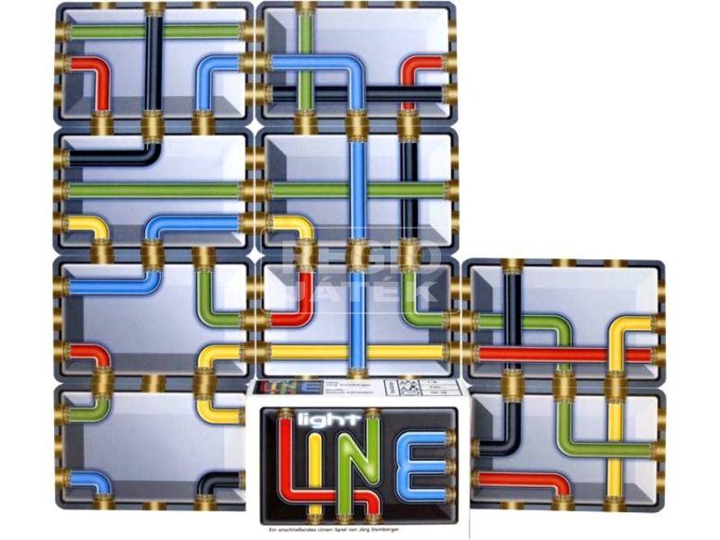 Light Line csőrendszerek kártyajáték