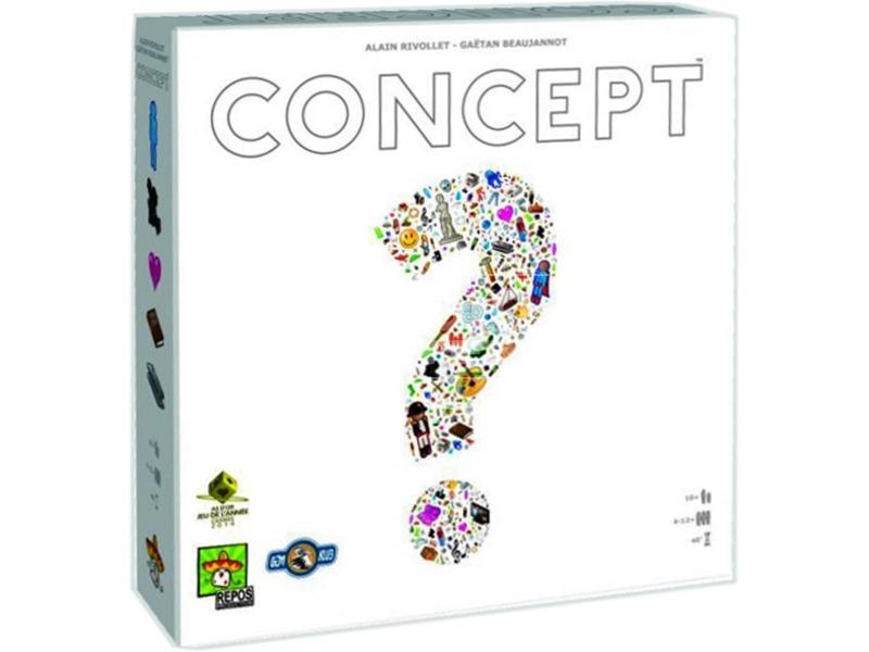 kép nagyítása Concept kommunikációs társasjáték