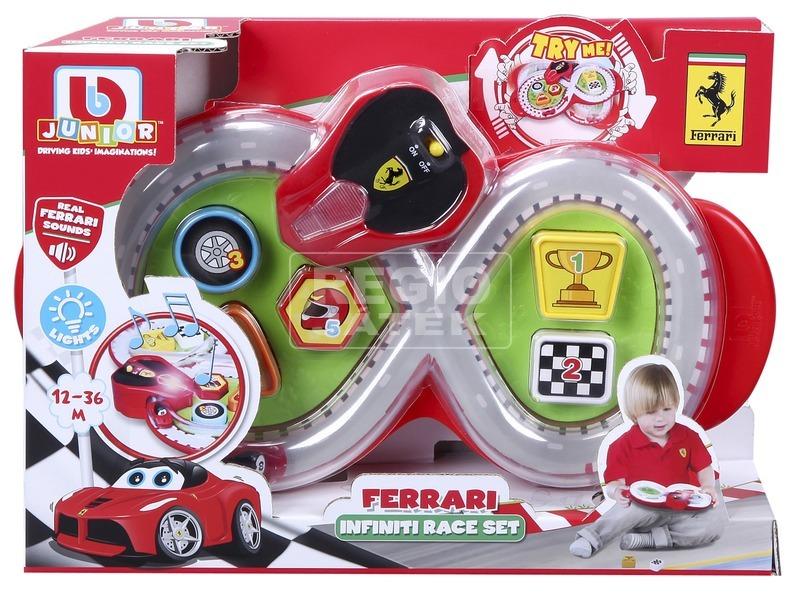 kép nagyítása Bburago Jr. - Ferrari formaegyeztetős játékszett