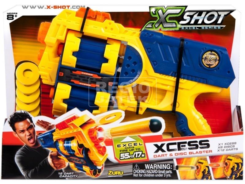 X-Shot Xcess forgótáras szivacslövő pisztoly