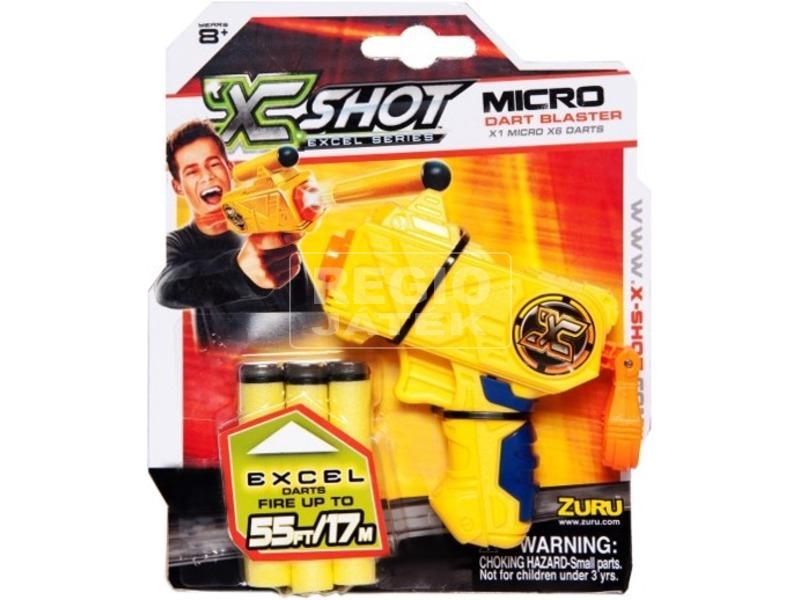 kép nagyítása X-Shot Micro szivacslövő pisztoly