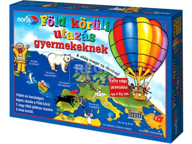Noris: Föld körüli utazás gyermekeknek társasjáték