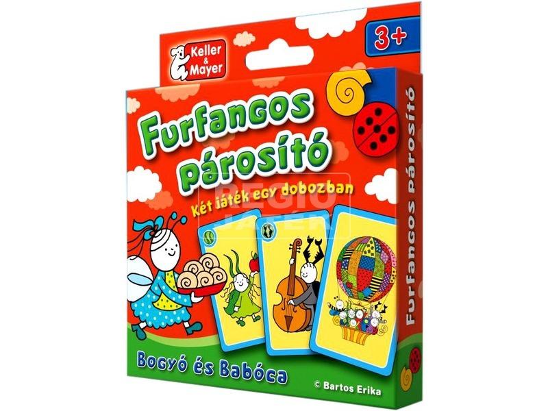 Bogyó és Babóca Furfangos párosító kártyajáték