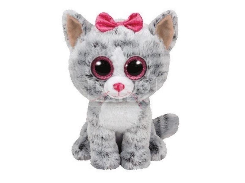 Beanie Boos KIKI szürke macska plüss 24 cm