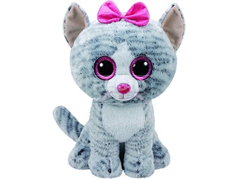 Beanie Boos KIKI szürke macska plüss 42 cm