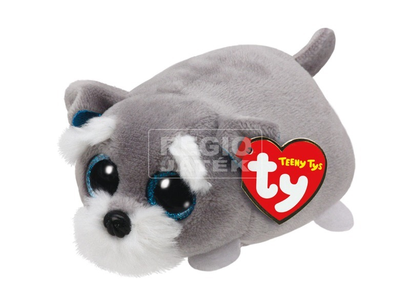 Teeny Ty JACK szürke kutya plüss figura