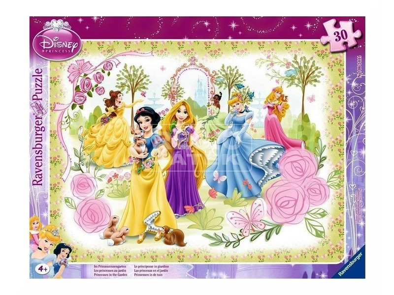 Disney hercegnők 30 darabos puzzle
