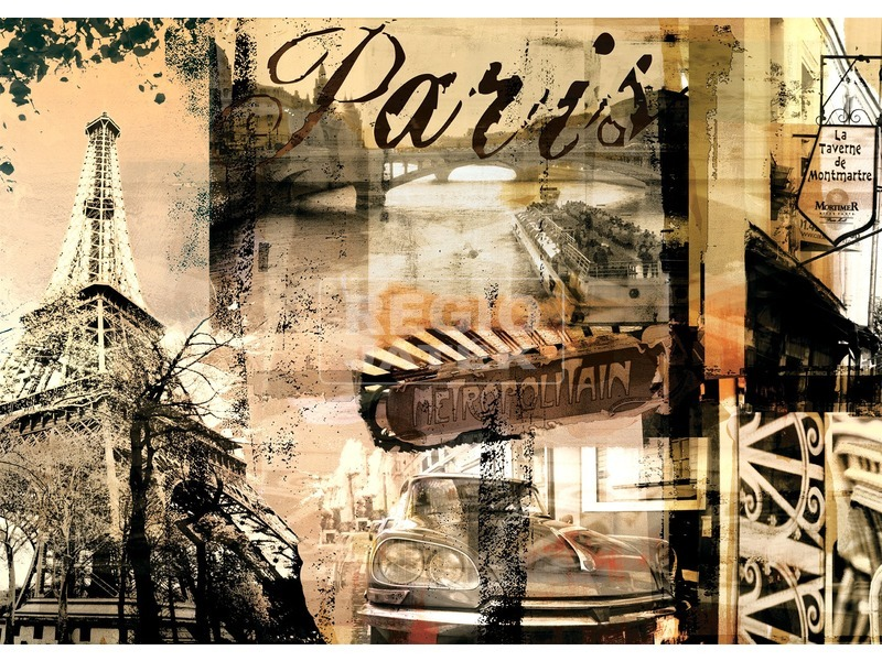 Párizsi emlék 1000 darabos puzzle