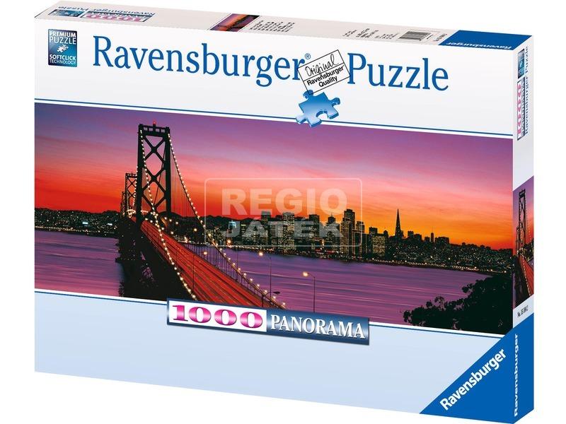 kép nagyítása Oakland Bay híd 1000 darabos panoráma puzzle