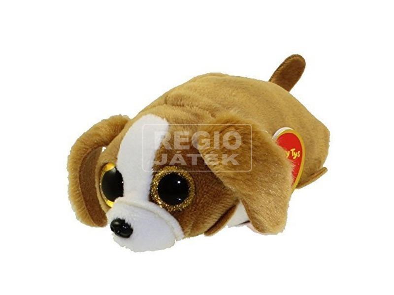 Teeny Ty SUZIE barna-fehér kutya plüss figura