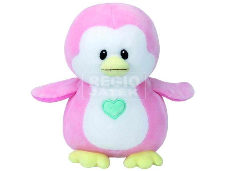 Baby Ty PENNY rózsaszín pingvin plüss figura 15 cm