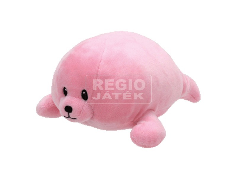 Baby Ty DOODLES rózsaszín fóka plüss figura 15 cm