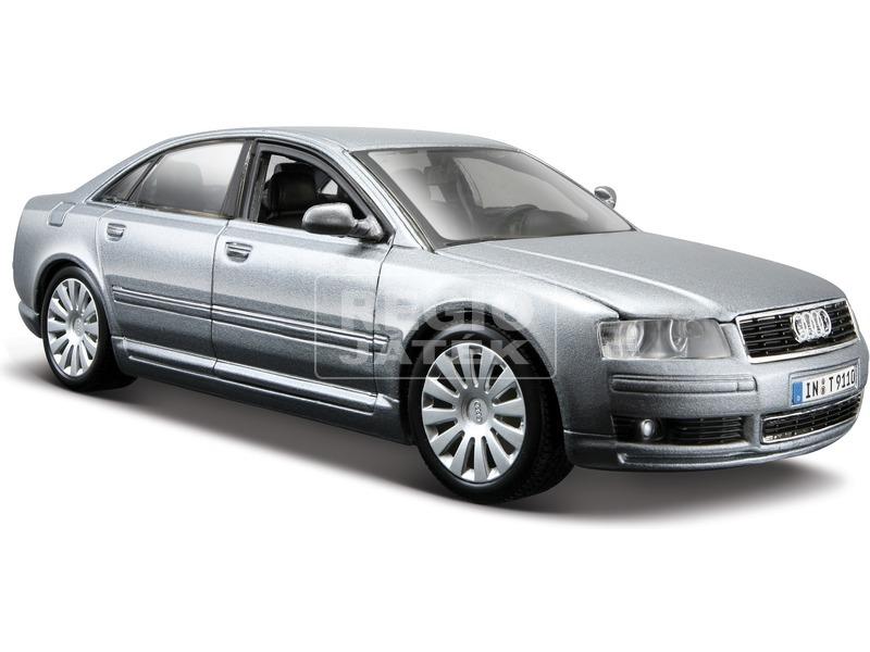 Fém autó 1:24, Maisto Audi A8 31971