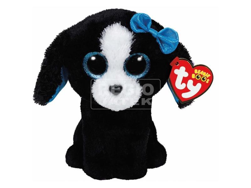 Beanie Boos TRACEY fekete /fehér kutya plüss 15 cm