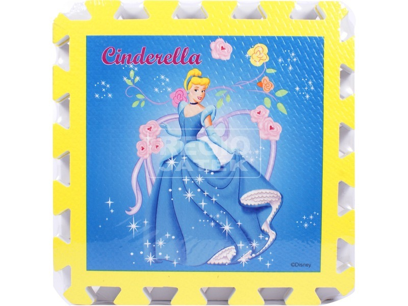 Disney hercegnők 6 darabos habszivacs puzzle