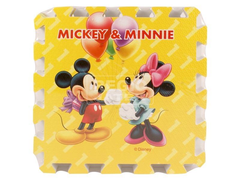 Mikiegér 9 darabos szőnyeg puzzle