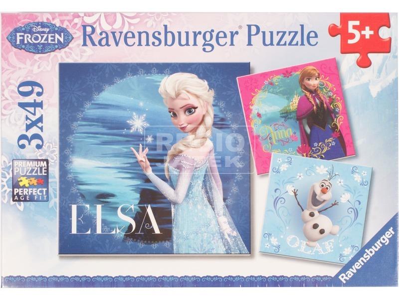 Jégvarázs 3 x 49 darabos puzzle