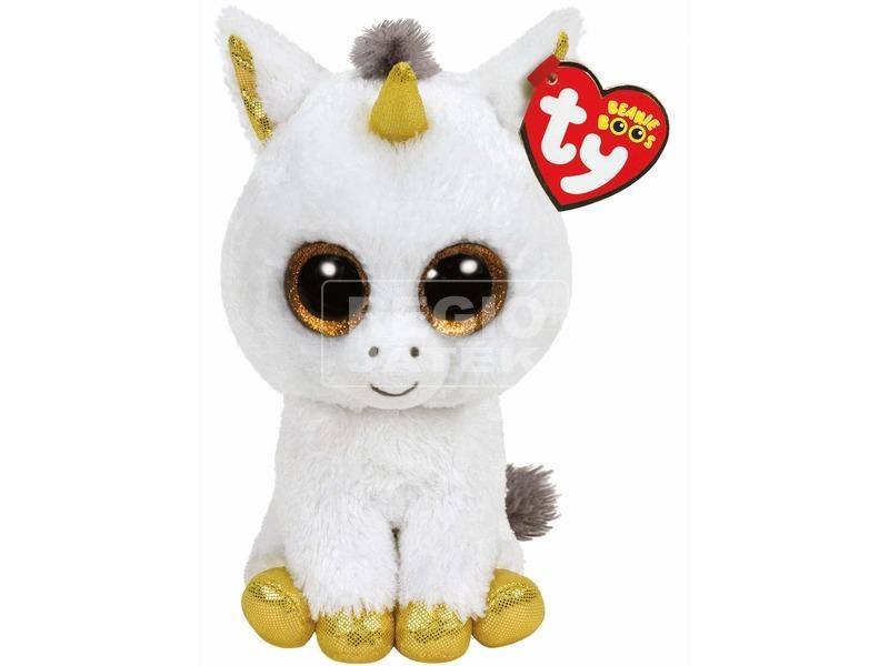 Beanie Boos PEGASUS fehér unikornis 24 cm