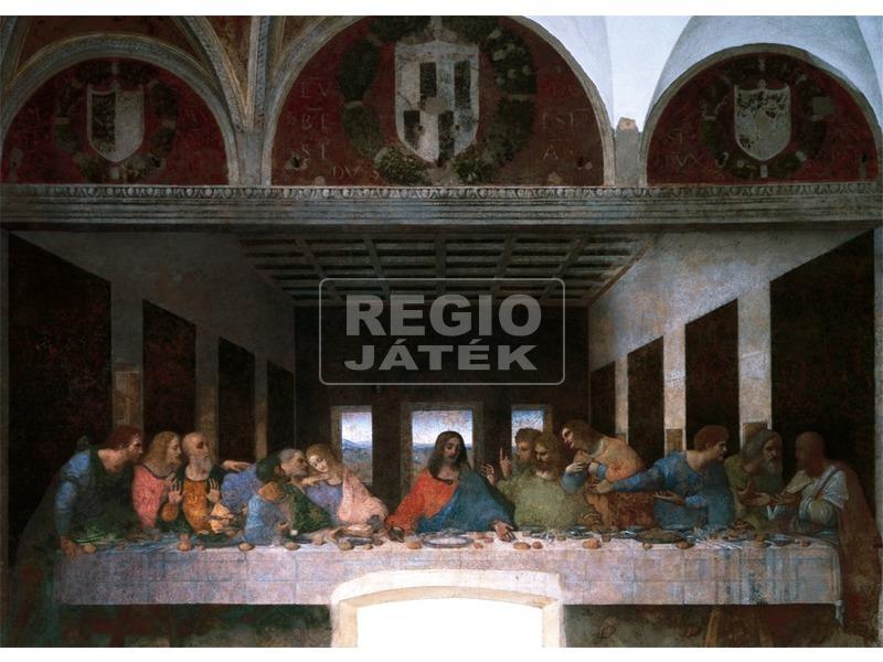 Leonardo Da Vinci: Utolsó vacsora 1000 darabos puzzle