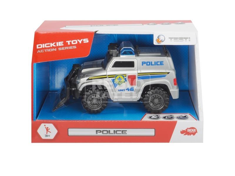 Dickie Police rendőrautó - 15 cm