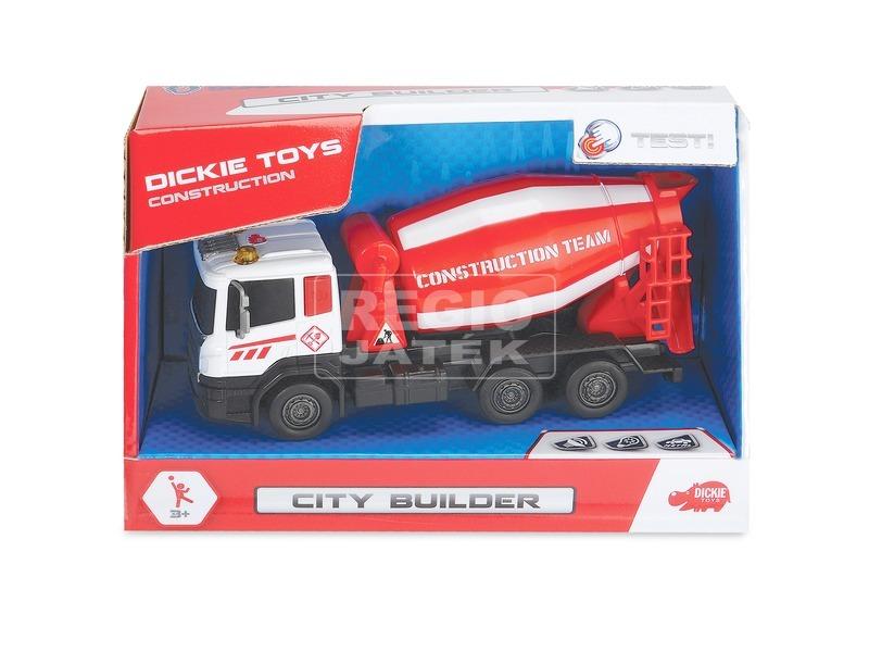 Dickie City Builder teherautó - 12 cm, többféle