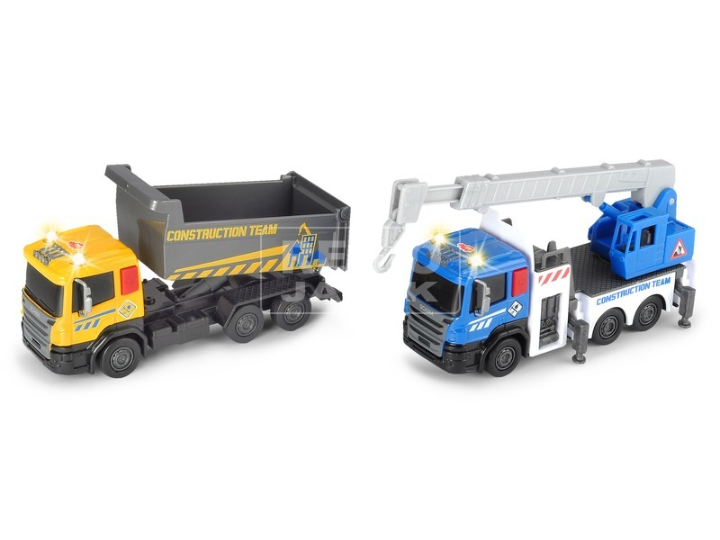 kép nagyítása Dickie City Builder teherautó - 16 cm, többféle