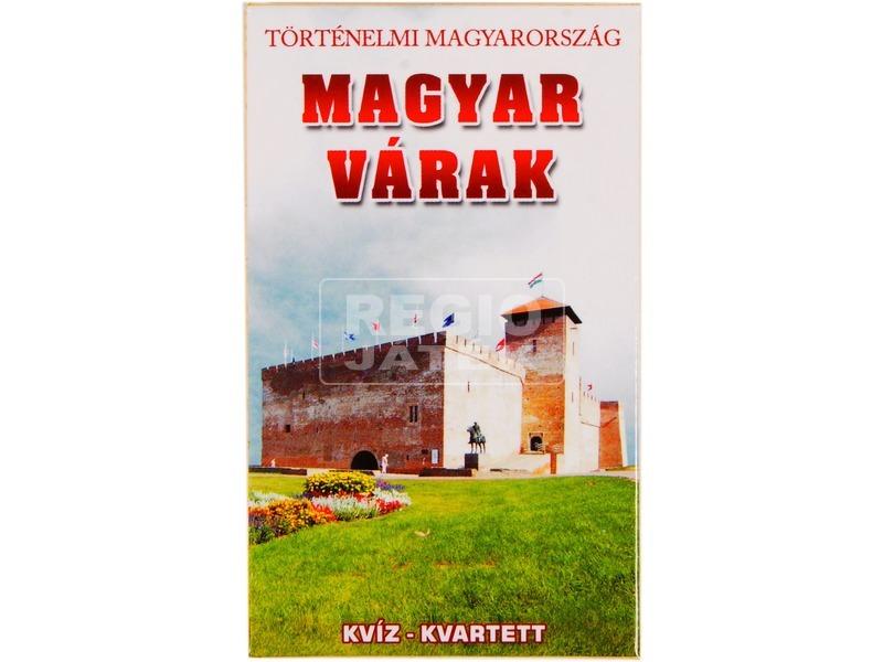 Magyar várak ismeretterjesztő kártya