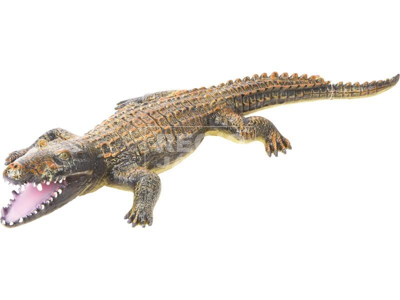 kép nagyítása Műanyag krokodil - 65 cm, többféle