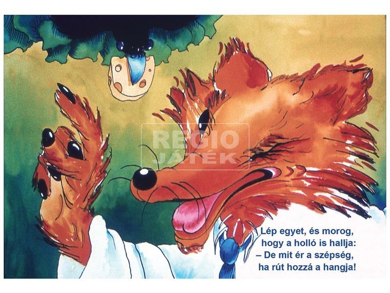 kép nagyítása A holló és a róka diafilm 34101120