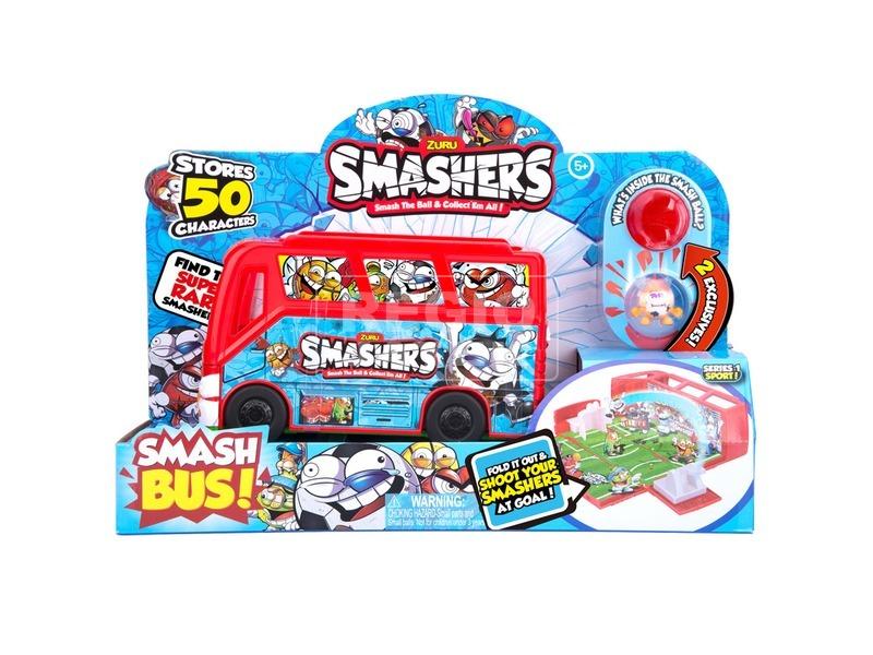 Smashers csapat busz