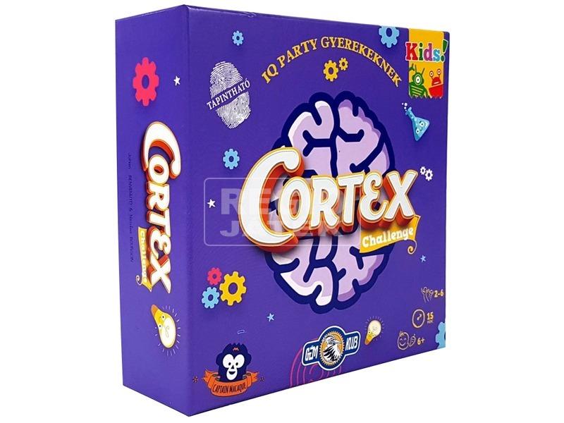 Cortex Challenge IQ party társasjáték gyerekeknek