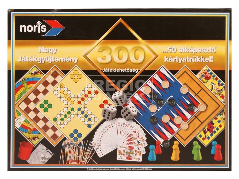 Játékgyűjtemény 300 nagy társasjáték