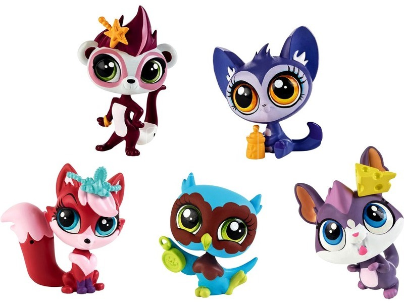Littlest Pet Shop: 1 darabos Picurka - többféle