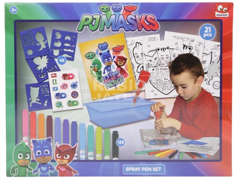 Pizsihősök festékszóró toll készlet