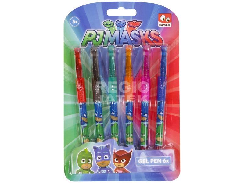 Pizsihősök zselés toll 6 darabos készlet