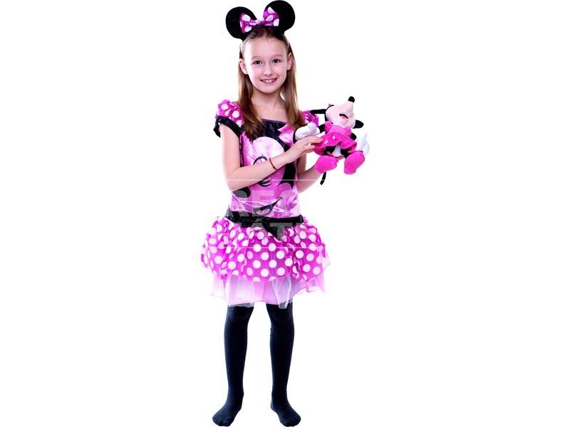 Minnie egér jelmez - 92-104-es méret