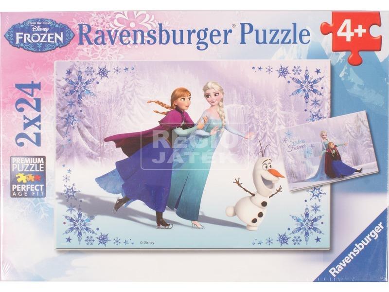 Jégvarázs Testvérek örökre 2 x 24 darabos puzzle