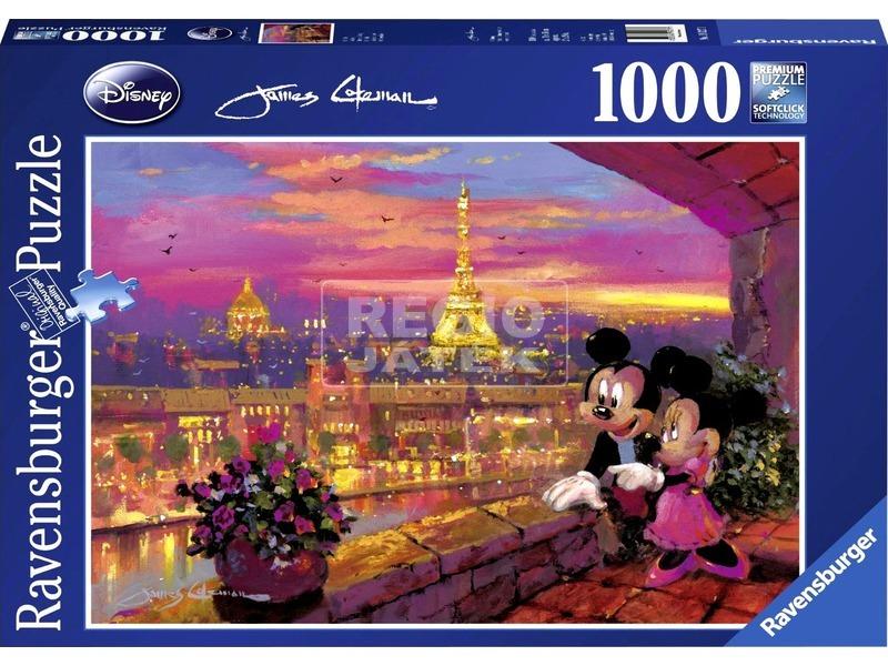 Puzzle 1000 db - Naplemente Párizsban