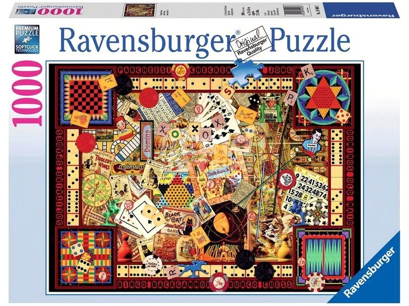 Puzzle 1000 db - Játékgyűjtemény