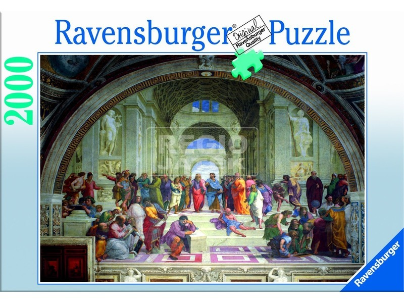 Raffaello: Athéni iskola 2000 darabos puzzle