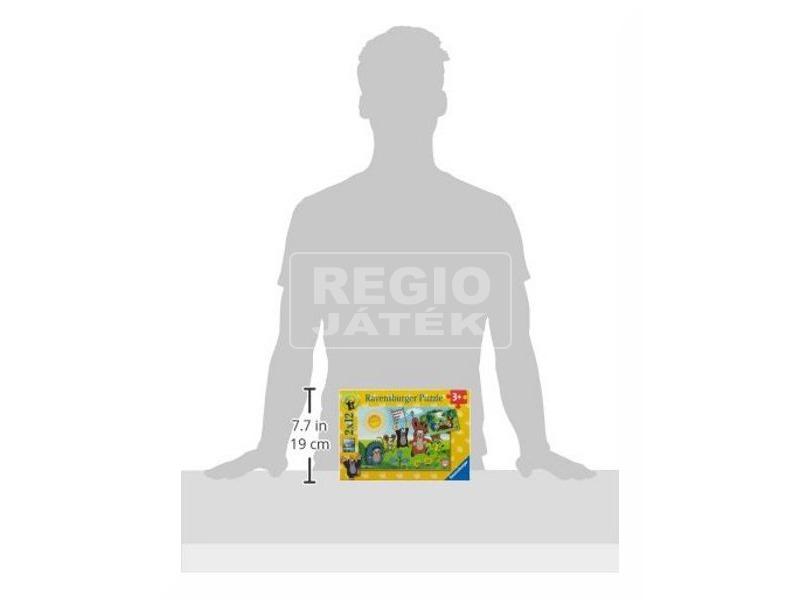 kép nagyítása Kisvakond 2 x 12 darabos puzzle