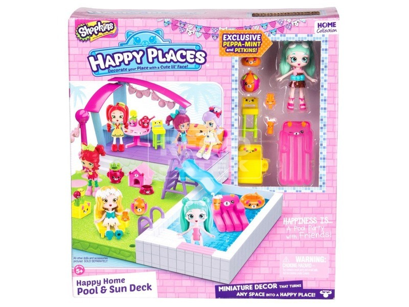 Happy Places S2 Medencés szett