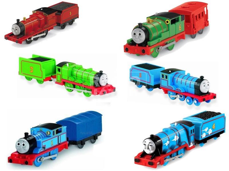 Thomas Trackmaster mozdony kocsival - többféle