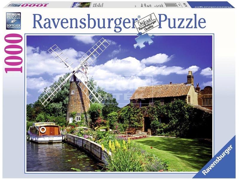 kép nagyítása Szélmalom 1000 darabos puzzle