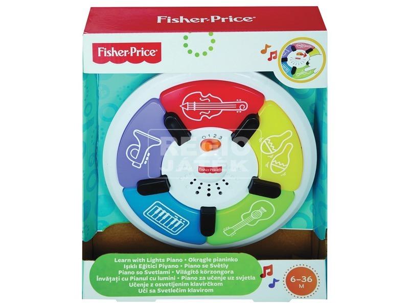 Fisher-Price világító körzongora bébijáték